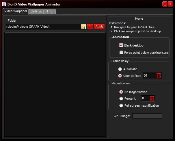 Movie Video Animated Desktop Wallpaper