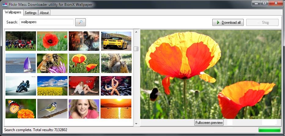 Flickr Mass Downloader 4.3