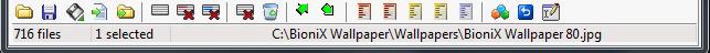 Desktop Background Wallpaper Changer toolbar