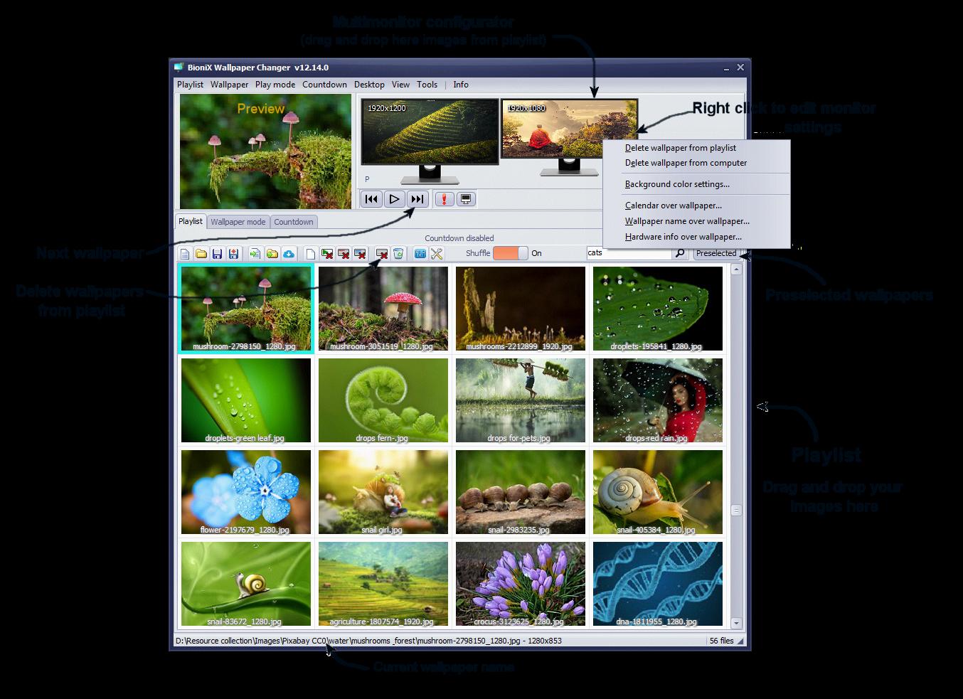 Desktop Wallpaper Backgrounds Intro
