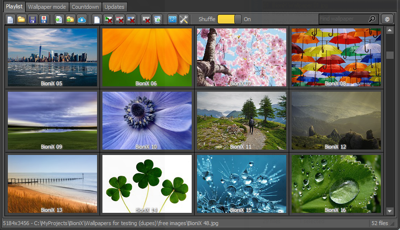Desktop Wallpaper Changer Software Wallpaper Source Tab Help Set