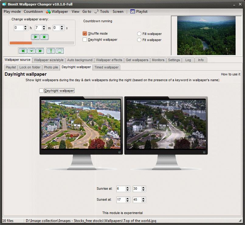 Desktop Wallpaper Slideshow Software